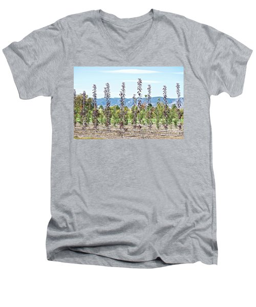 Life On A Tree Farm-foothills View #1 Men's V-Neck T-Shirt
