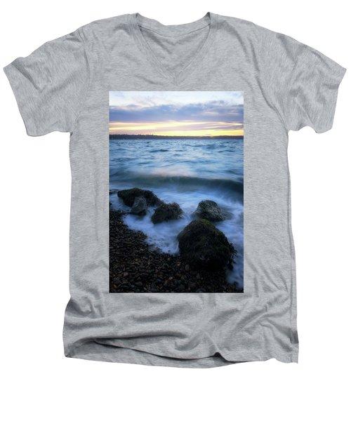 Life On The Rocks Men's V-Neck T-Shirt