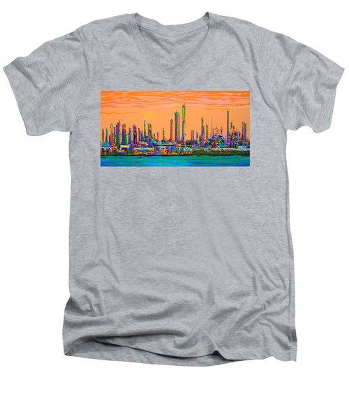 Lifeblood Spirit Spree Men's V-Neck T-Shirt