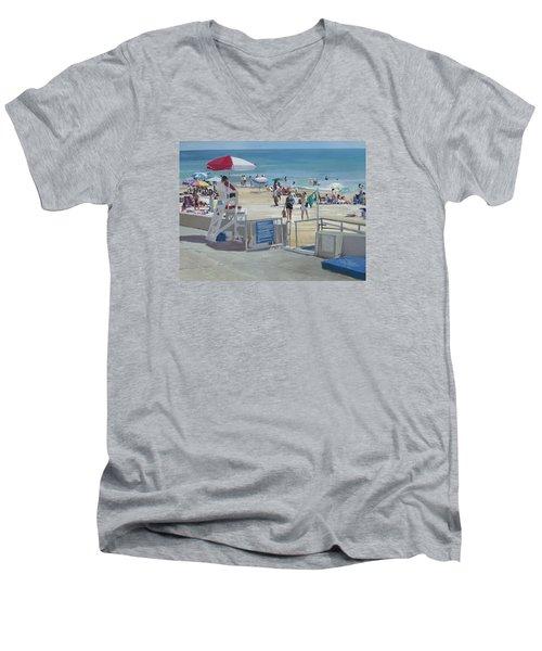 Lifeguard On Duty Men's V-Neck T-Shirt