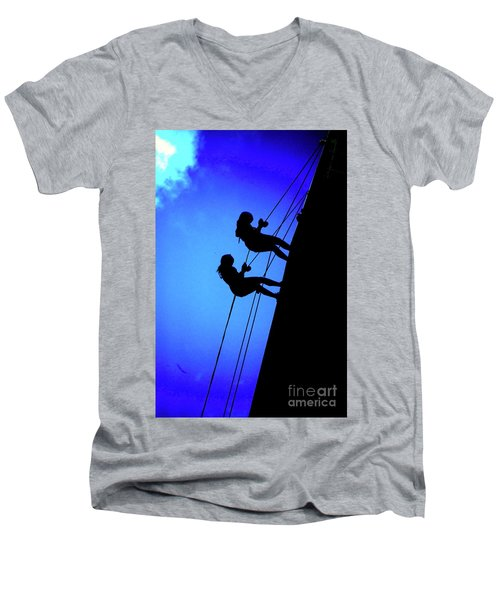 Lifelines And Companions Men's V-Neck T-Shirt