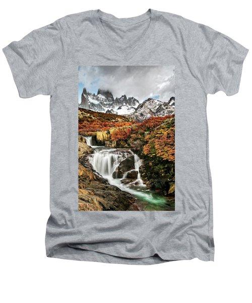 Lifespring 2 Men's V-Neck T-Shirt