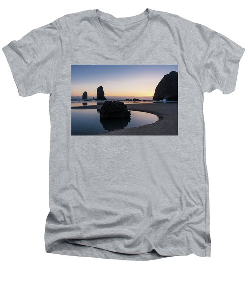 Light And Tide Men's V-Neck T-Shirt