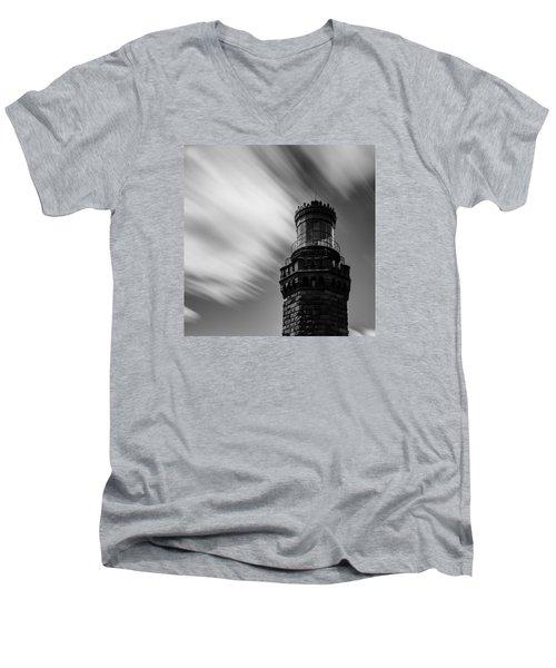 Light And Time Men's V-Neck T-Shirt
