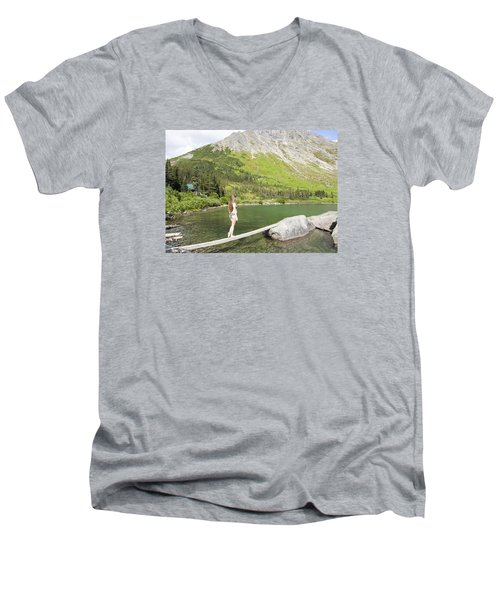 Light As A Feather Men's V-Neck T-Shirt