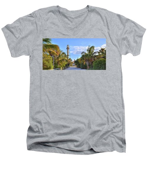 Light At The End Of The Road Men's V-Neck T-Shirt