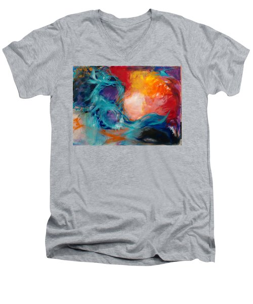 Light Energy Men's V-Neck T-Shirt