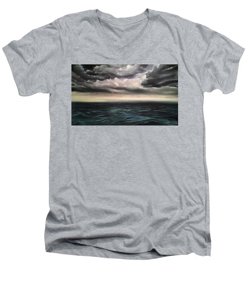 Light In The Darkness  Men's V-Neck T-Shirt