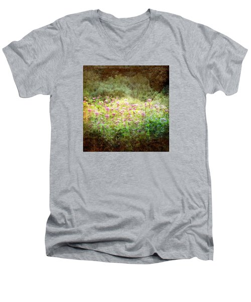 Light In The Forest Men's V-Neck T-Shirt
