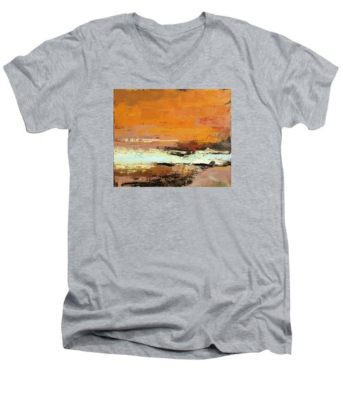 Light On The Horizon Men's V-Neck T-Shirt