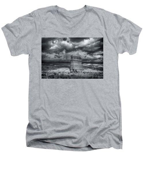 Light On The Rock Men's V-Neck T-Shirt