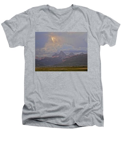 Light Storm Men's V-Neck T-Shirt