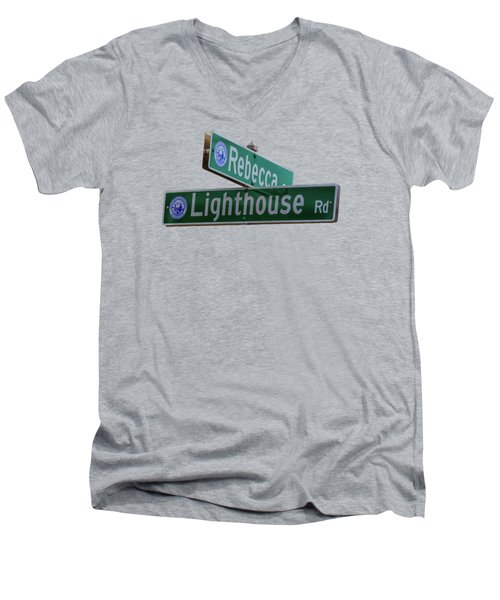 Lighthouse Road Men's V-Neck T-Shirt