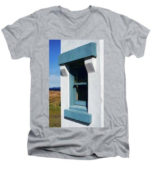 Lighthouse Window Men's V-Neck T-Shirt