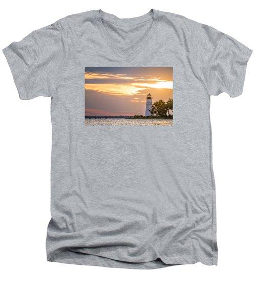 Lighting The Way Men's V-Neck T-Shirt