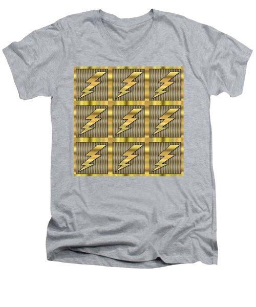 Lightning Bolt Group - Transparent Men's V-Neck T-Shirt