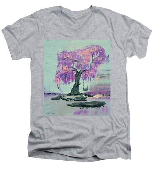 Lilac Dreams- Prince Men's V-Neck T-Shirt