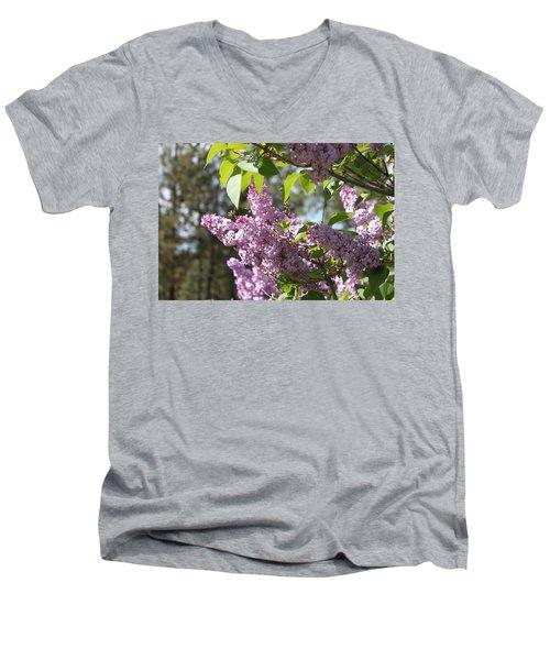 Lilacs 5545 Men's V-Neck T-Shirt