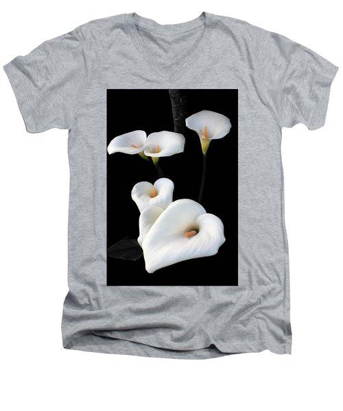 Lilies Men's V-Neck T-Shirt