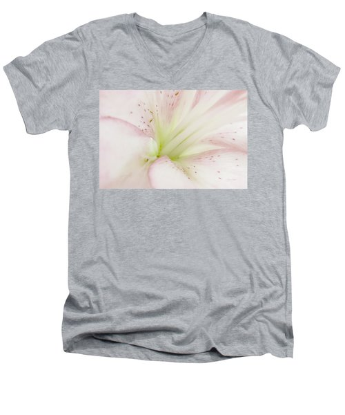 Lily Centered Men's V-Neck T-Shirt