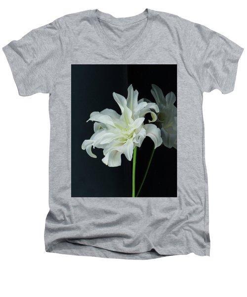 Lily Reflected Men's V-Neck T-Shirt