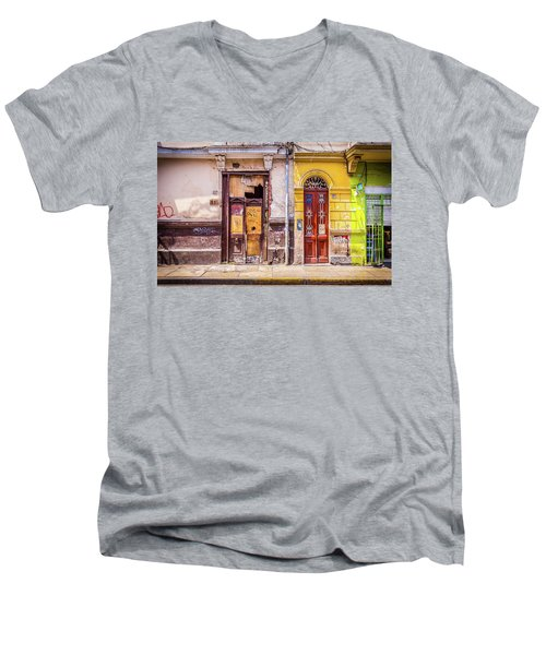 Lima City Doors Men's V-Neck T-Shirt