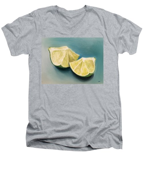 Limes Men's V-Neck T-Shirt