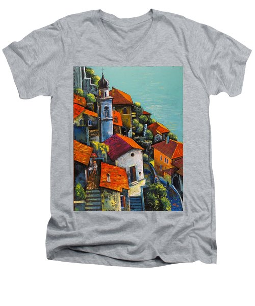 Limone Del Garda Men's V-Neck T-Shirt