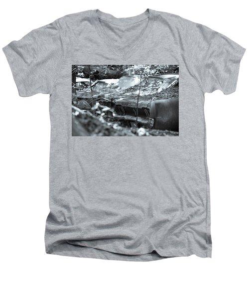 Line Them Up Men's V-Neck T-Shirt