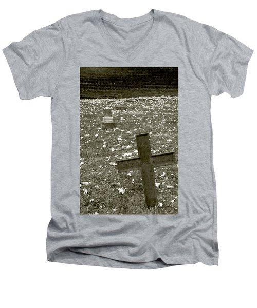 Line Up Men's V-Neck T-Shirt