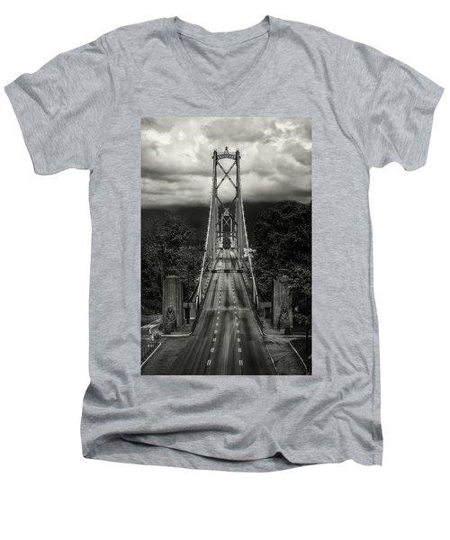 Lion's Gate Rush Hour Men's V-Neck T-Shirt