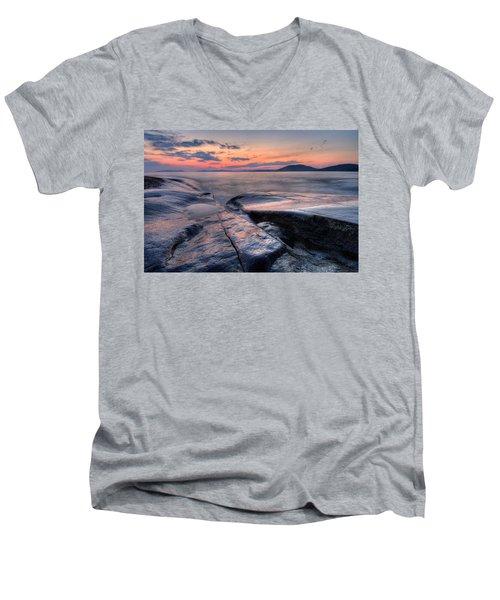 Liquid Lagoon  Men's V-Neck T-Shirt