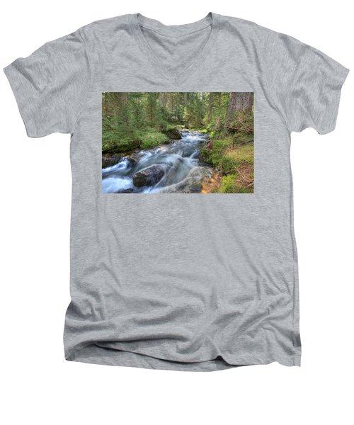 Liquid Snow Men's V-Neck T-Shirt