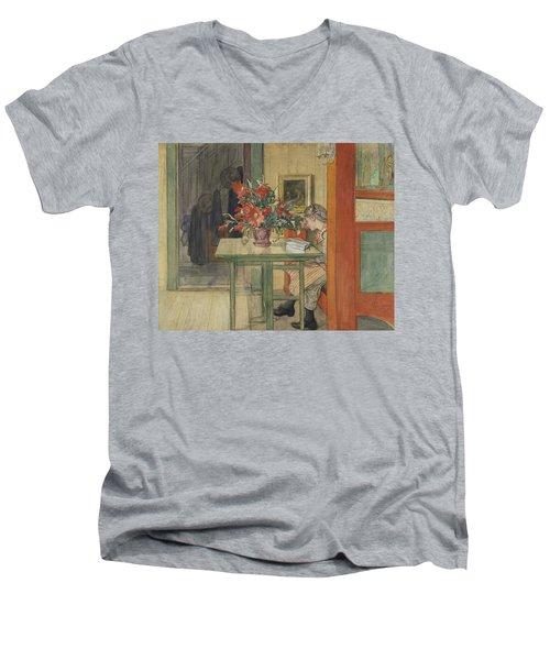 Lisbeth Reading Men's V-Neck T-Shirt