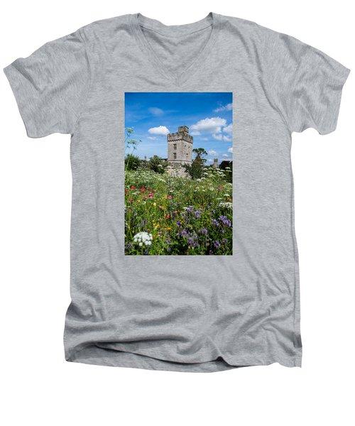 Lismore Castle Gardens Men's V-Neck T-Shirt