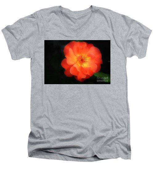 Lite Up Men's V-Neck T-Shirt
