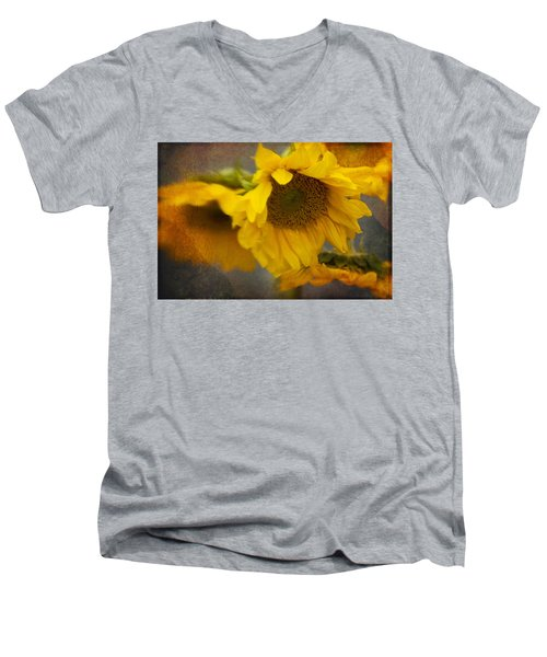 Little Bit Of Sunshine Men's V-Neck T-Shirt