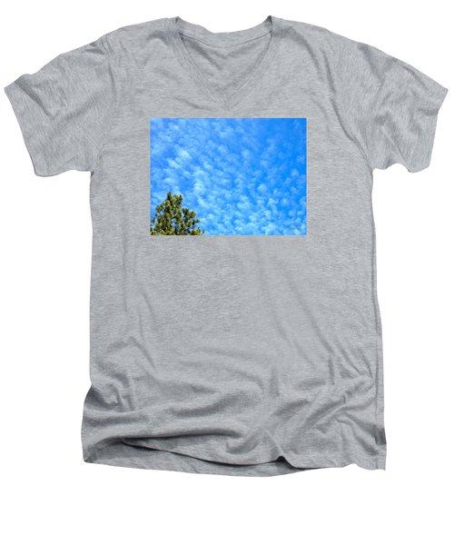 Little Clouds Men's V-Neck T-Shirt