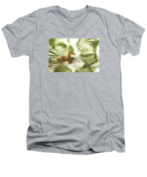 Little Ducky Men's V-Neck T-Shirt