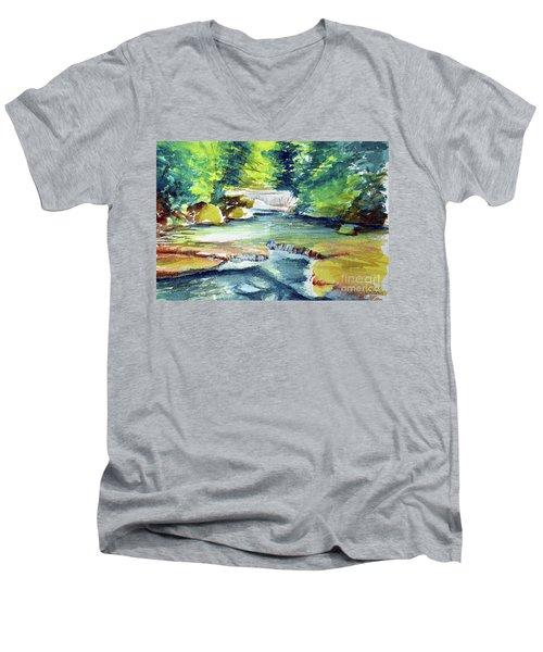 Little Falls Men's V-Neck T-Shirt