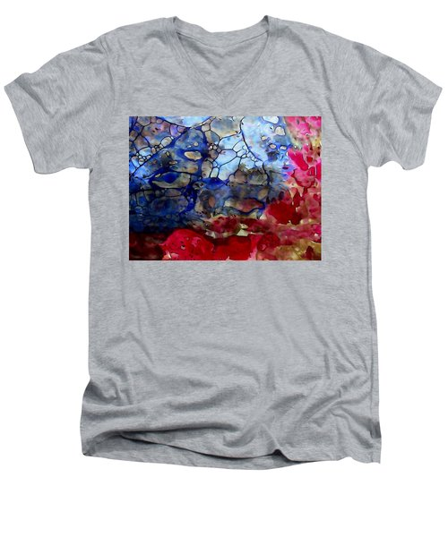 Little Gem Men's V-Neck T-Shirt