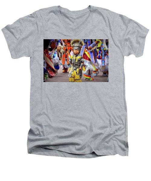 Little Grass Dancer Men's V-Neck T-Shirt