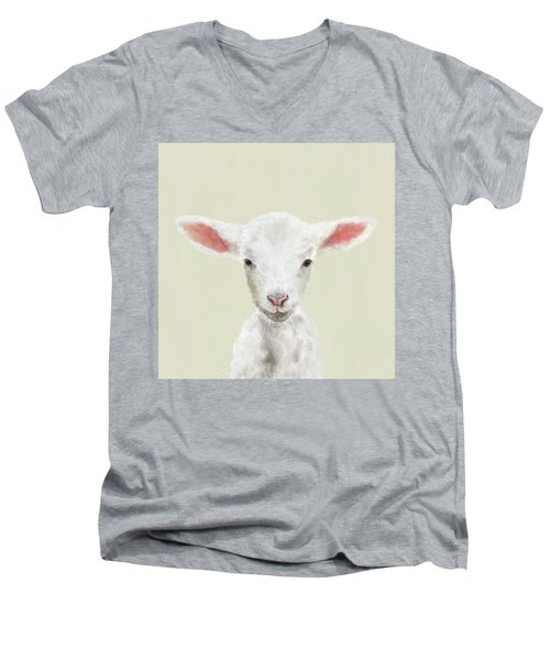 Little Lamb Men's V-Neck T-Shirt