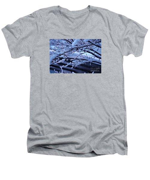 Little Light Make Me Smile  Men's V-Neck T-Shirt by Yumi Johnson