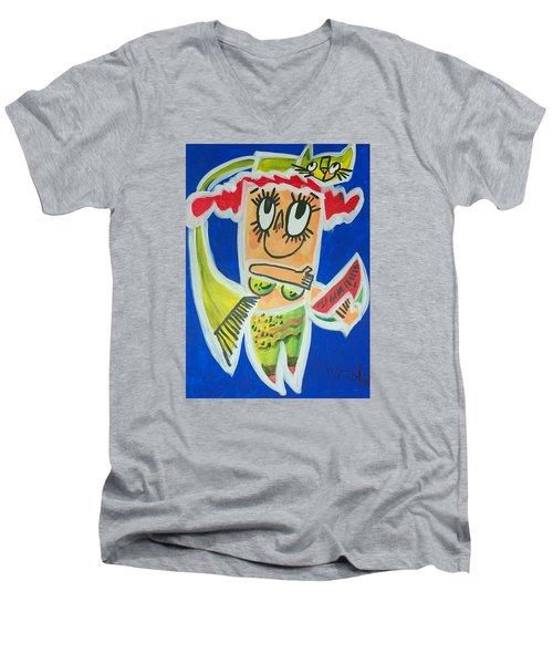 Little Mermaid Men's V-Neck T-Shirt