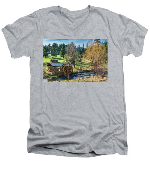 Little Old Mill Men's V-Neck T-Shirt