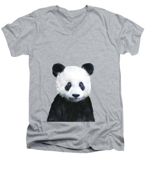 Little Panda Men's V-Neck T-Shirt