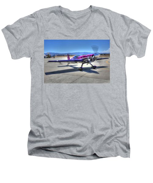Little Purple And Vickey Benzing Men's V-Neck T-Shirt