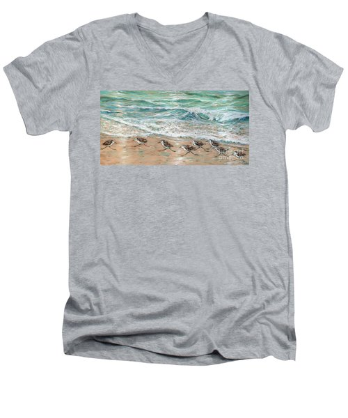 Little Rebel I Men's V-Neck T-Shirt
