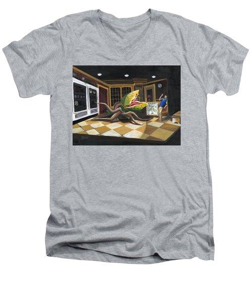 Little Shop Of Horrors Men's V-Neck T-Shirt